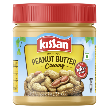 Pia Dressings Kissan Peanuts Butter Creamy Jar 350G