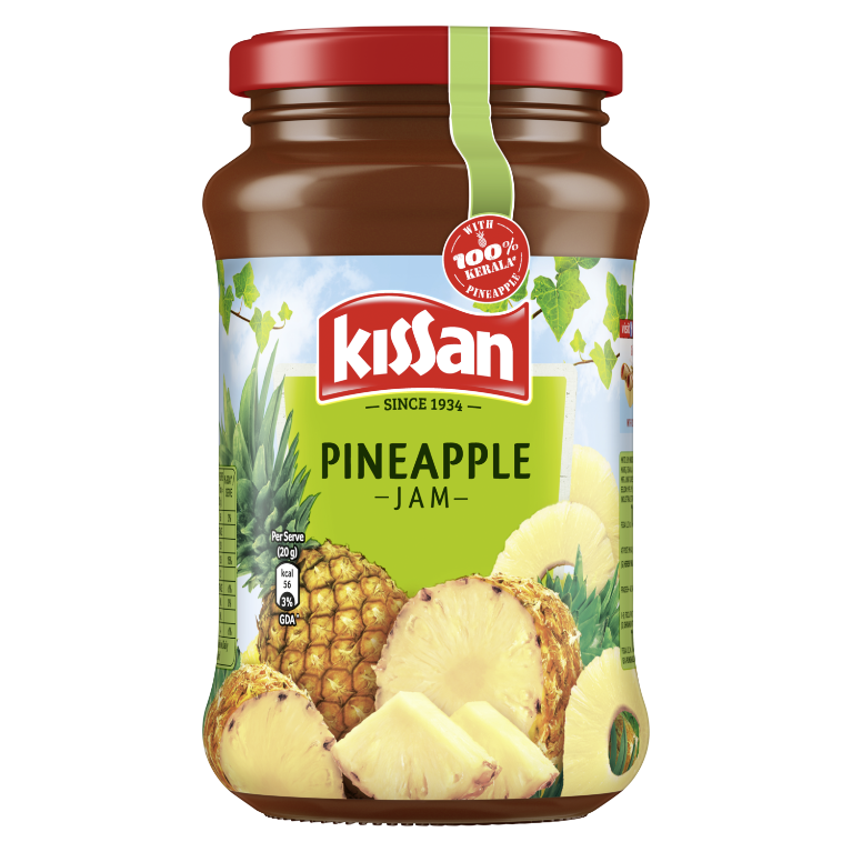 KISSAN Jam Pineapple 500 g